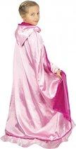PARTYPRO - Luxe omkeerbare roze prinses cape voor kinderen - Accessoires > Capes