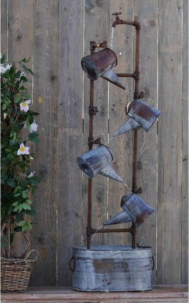 Fontein - Waterornament gietertjes - 153 cm hoog