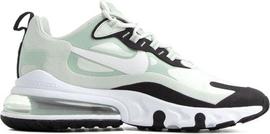 Nike Air Max 270 React Sneakers - Maat 40 - Vrouwen - licht groen/zwart/wit