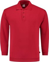 Tricorp Polosweater boord - Casual - 301005 - Rood - maat XL