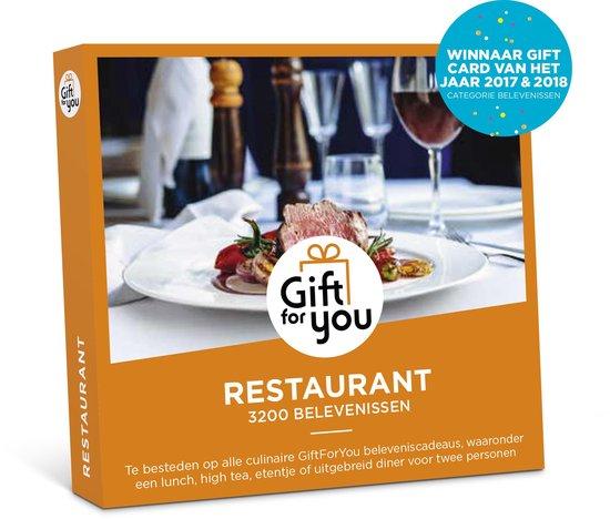 GiftForYou Cadeaubon - Restaurant