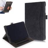 Samsung Galaxy Tab A 10.1 (2019) Hoes Book Cover - PU Lederen Case – Zwart