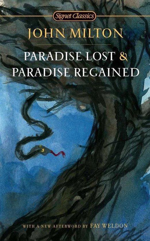 Boek cover Paradise Lost and Paradise Regained van John Milton (Paperback)