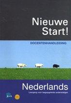 Boek cover Nieuwe Start! Nederlands 2010 Docentenhandleiding van Petra Roël