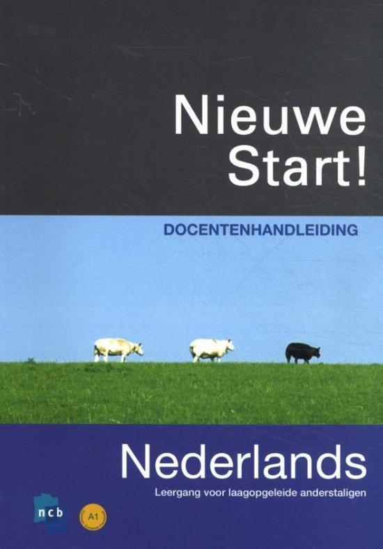 Boek cover Nieuwe Start! Nederlands 2010 Docentenhandleiding van Petra Roël (Paperback)