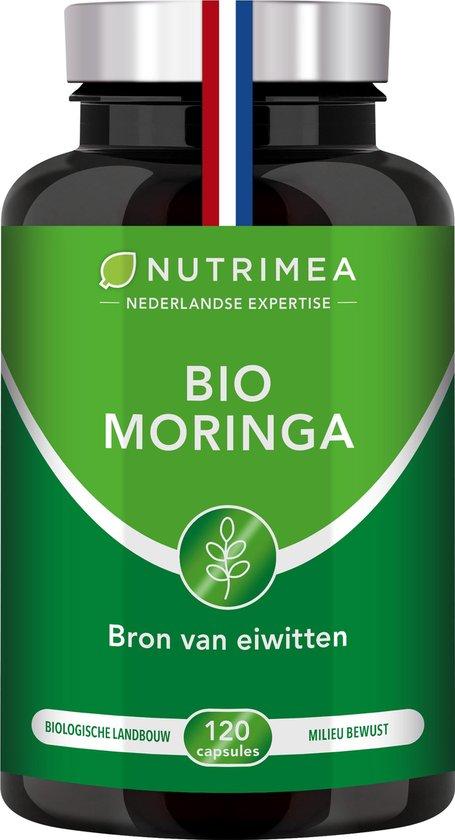 MORINGA Oleifera - Superfood - Vitamines - NUTRIMEA - 120 capsules