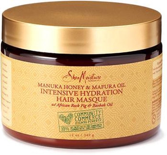 Shea Moisture Manuka Honey & Mafura Oil Intensive Hydration Masque 340 gr