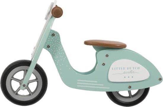 Little Dutch Verstelbare Loopscooter Mint