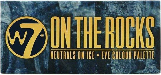W7 On The Rocks Neutrals on Ice Oogschaduw Palette - W7