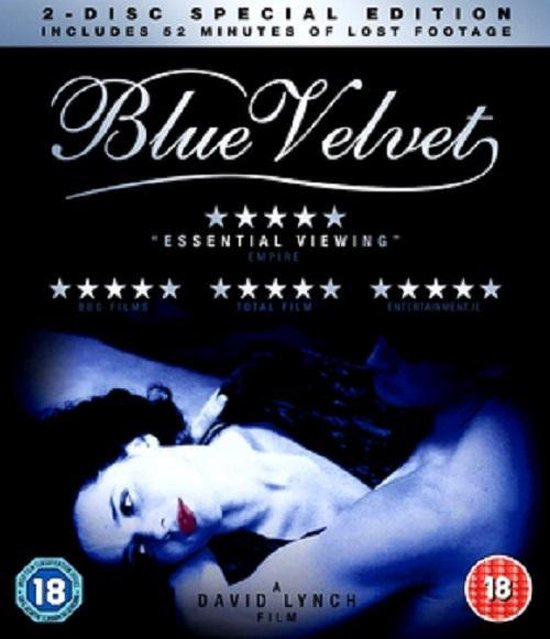Blue Velvet - Special Edition Unseen Footage Blu Ray (Import)