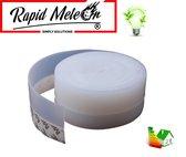 Tochtstrip / Tochtwering / Tochtstopper - 5 meter - Voor deuren en ramen - zelfklevend - Energie besparen - Rapid Meteor®