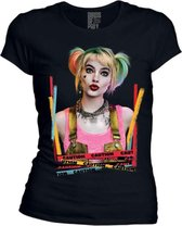 Harley Quinn Dameshirt - Birds of Prey Maat L