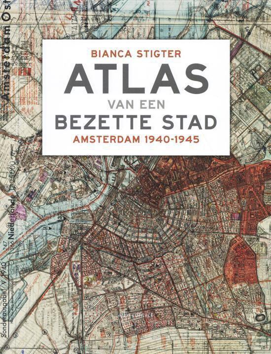 Omslag van Atlas van een bezette stad