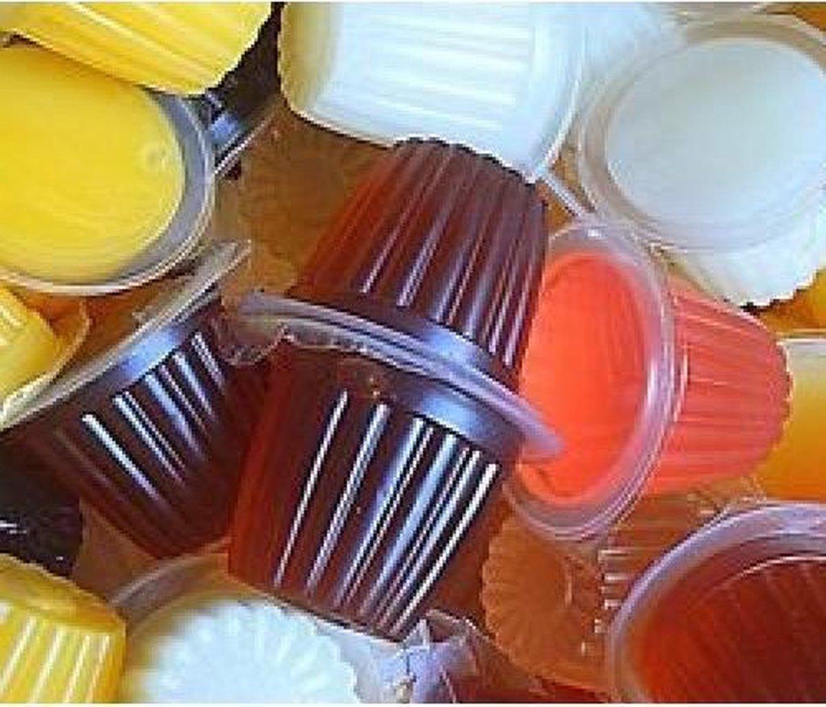Fruitcups Fruitkuipjes mix 25 stuks
