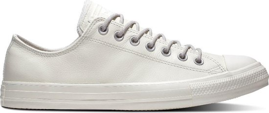 Converse All Stars Chuck Taylor Leer 163342C Wit / Grijs-44.5