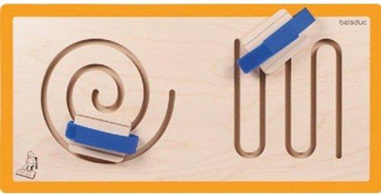 Afbeelding van het spel Beleduc wandbord spiraal en boog