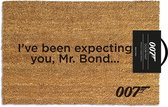James Bond I've Been Expecting You deurmat