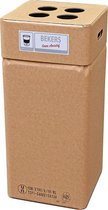 Afvalbak karton, Afvalbox bekers losse opvang (herbruikbaar)