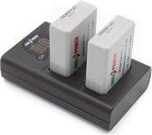 ChiliPower LP-E5 Canon USB Duo Kit - Camera accu set