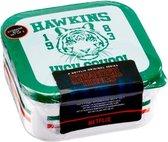 Stranger Things Hawkins High School kitchen storage set