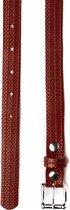 BENDL 112 Sustainable riem van oude brandslang rood - 95 cm - vegan