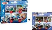 Ravensburger Thomas & Friends. 8 stuks puzzels -12+16+20+24 stukjes - kinderpuzzel