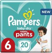 Pampers Baby-Dry Pants - Maat 6 (15kg+) - 20 Luierbroekjes