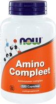 Now Foods - Amino Compleet - Aminozuren Complex - 120 Capsules