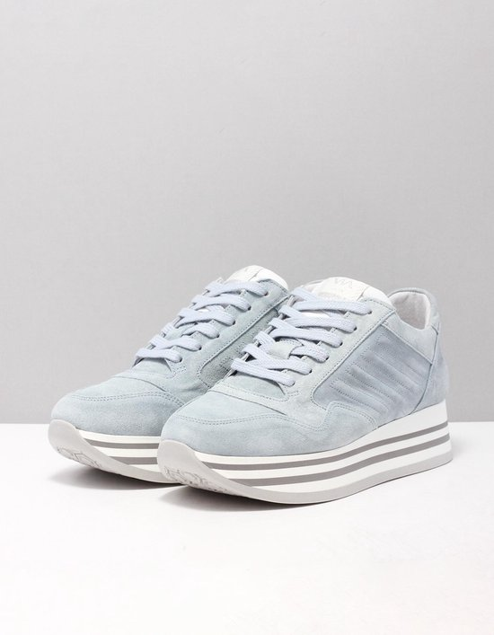 Via Vai 5209036-01 Sneakers Dames Maat: 42 Blauw 005 Sierra Iride Suède Epb14S