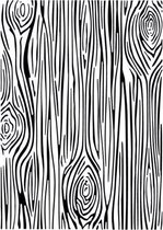 Creative Expressions • Embossing folder 5x7 skinny woodgrain
