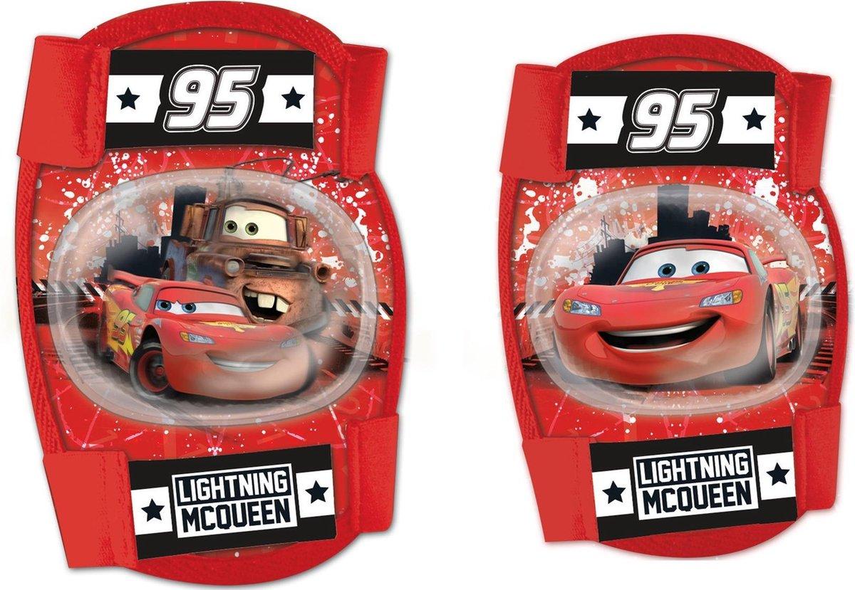 Disney Beschermset Cars Junior Foam Rood 4-delig Maat S