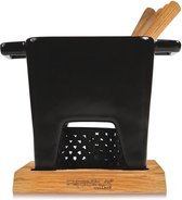 Boska Tapas Fondue Nero L - Kaas fondue - voor 350 gram Kaas - 600 ml