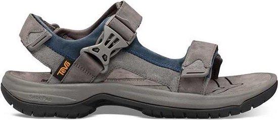 Teva Tanway Leather Heren Wandelsandalen - Grijs - Maat 43