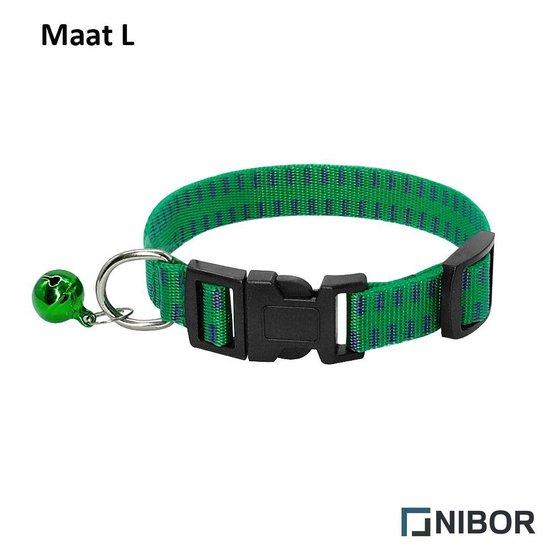 Nibor - Teken- en vlooienband - Voor honden - Maat L - 28 tot 45 cm - Voor ieder seizoen
