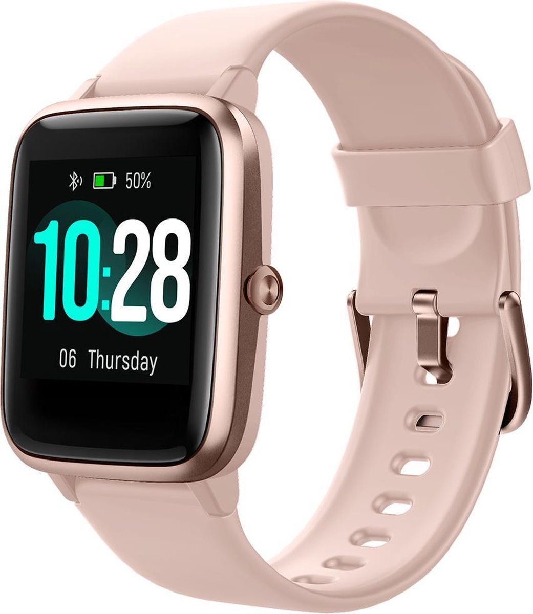 SmartWatch-Trends S205L - Smartwatch - Roze