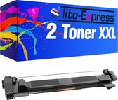 PlatinumSerie® 2 Toner XXL compatibel voor Brother TN-1050 Black