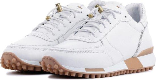 Via Vai Vrouwen Sneakers - 5409059 Wit Maat 37 WNZ69X