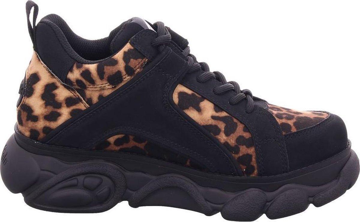 Buffalo Corin Vegan dames dad sneaker - Zwart bruin - Maat 38 RwQOh