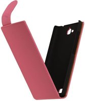 Wicked Narwal | Classic Flip Hoes voor sony Xperia E3 D2203 Roze
