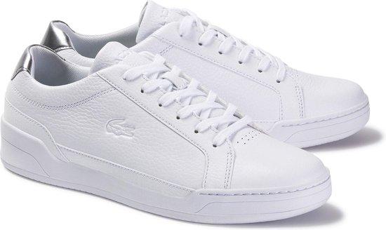Lacoste Sneakers - Maat 42 - Mannen - wit/zilver