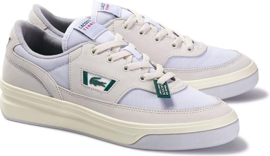 Lacoste Sneakers - Maat 42.5 - Mannen - offwhite/wit