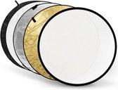 Godox reflectieschermen 5-in-1 Gold, Silver, Black, White, Translucent - 60cm