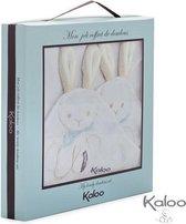 Kaloo Les Amis - Knuffeldoek katoen konijn(2st.)