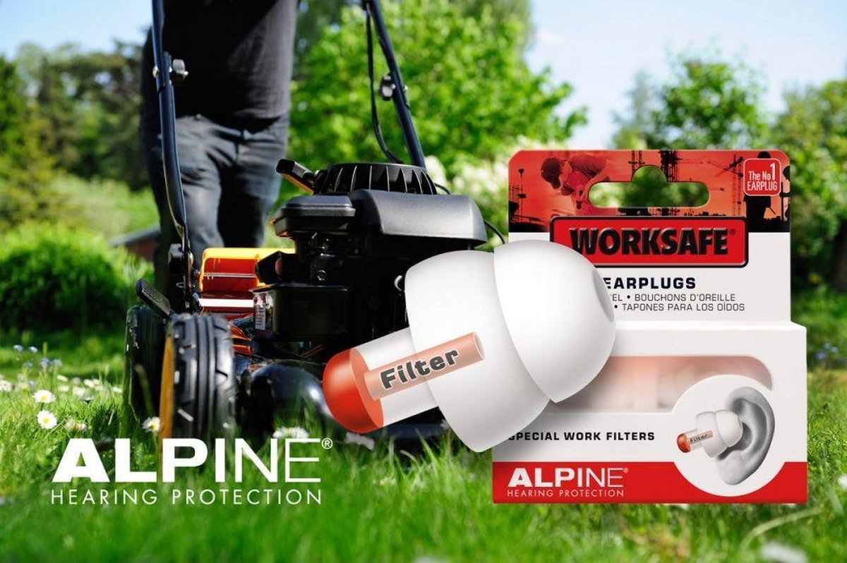 Able2 Oordopjes WorkSafe - Alpine Hearing protection
