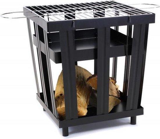 2-L Home & Garden BBQ Cube 50 Vuurkorf - 46 x 49 x 46 cm