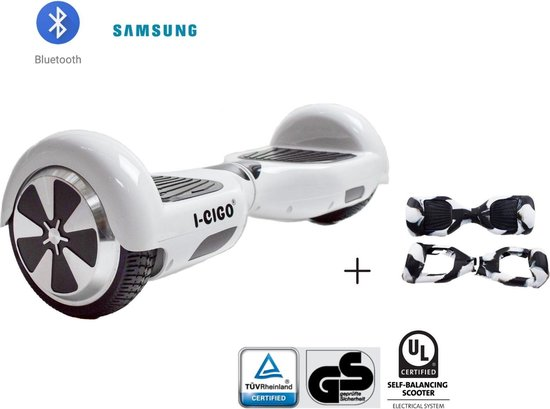 EVERCROSS MINIROBOT HOVERBOARD BLUTOOTH, GYROPODE 6.5 INCHES LED-SCHERM