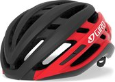 Giro Sporthelm - Unisex - zwart/rood/wit 55,5-59,0 hoofdomtrek
