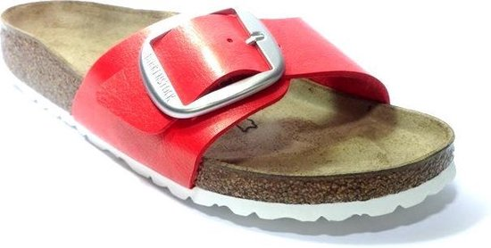 Birkenstock Madrid Graceful Dames Slippers Small fit - Rood - Maat 38 aYw9pH3r