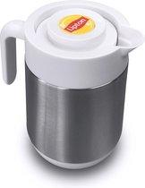 Lipton Thermoskan - 1,2 Liter - Dubbelwandig - met Drukknop