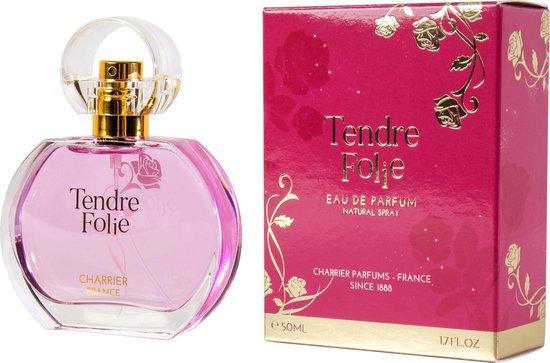Tendre Folie een heerlijke zachte bloemige geur (uit de Provence) met GRATIS miniatuur.